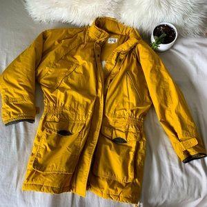 Vintage Chori Yellow Winter Utility Jacket